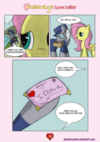 ''Fluttershy's Love Letter'' - Page 16 by DanteIncognito