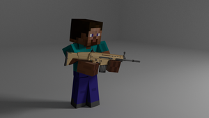 minecraft with guns by jarjarguy
