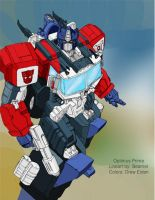 Energon Optimus Prime by DrewEiden