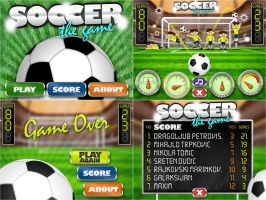 Soccer The Game - Graphics and Design for a Client by djnick2k