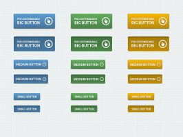 Free Classic Web Buttons by Pixeden