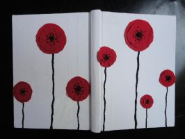 Poppy Notebook by Traumfaengerin-Wish