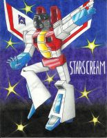 TRANSFORMERS G1: STARSCREAM by CHICAIRKEN