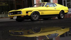 1971 Ford Mustang Mach 1 (Gran Turismo 5) by Vertualissimo