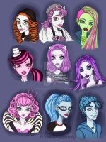 Random Monster High by AvieHudson