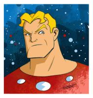 Flash Gordon Sketch Colors by LostonWallace