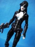 Custom Marvel Legends Domino by cusT0M