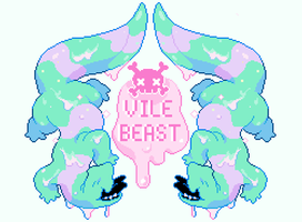 VILE BEAST by Andcetera