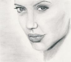 Angelina Jolie by AndyBuck