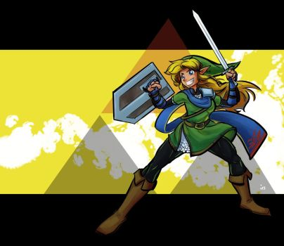 Link the Warrior by tran4of3
