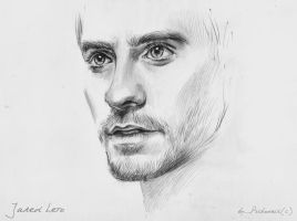 Jared Leto Sketch by psichodelicfruit