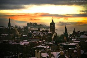 Edinburgh Winter 2 by gdphotography