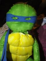 TMNT - Leo with marsk by plushgirl94