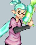 Squid Boy by kittymochi