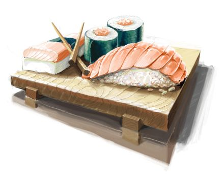 sushi by Darkshire