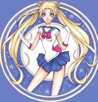 Sailor moon by Nina-D-Lux