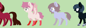 Random Mlp Adopts Auction (4/4 open) by PeppermintBowtie