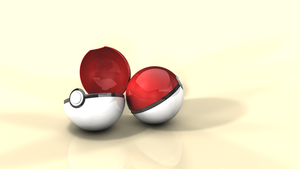 Pokeball background by krunchh