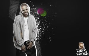 Chris Brown by hNsM