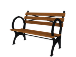 Central Park Zoo Bench by RubiiART