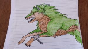 Link As A Wolf (Legend Of Zelda:Twilight Princess) by Knight-Of-Blood1998