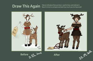 Draw this again - For my deer by by-MK