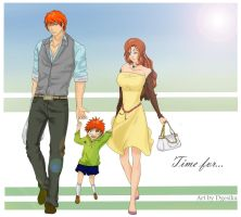 Time for... - Ichigo and Orihime by Dgesika