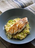 Halibut and risotto by Fraanzi08
