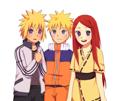 Triple Genin by natto-uzumaki