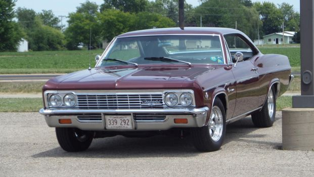1966 Chevrolet Impala by sfaber95