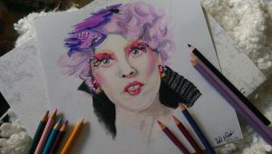 Effie Trinket|Hunger Games by xNoxy