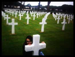 American Cemetery To Rome by BrainLessGirl