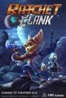 Ratchet and Clank - Movie Poster (Kyzil at Night) by Caprice1996