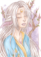 ACEO - Yuuki by AriannLee