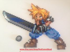 Cloud Strife by HaleysRedComet