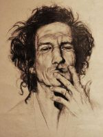 Keith Richards by Zusacre