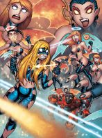 EMPOWERED: HELLBENT or HEAVENSENT COVER by RyanKinnaird