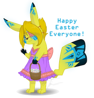 Happy Easter 2014 by Pokemon-Chick-1