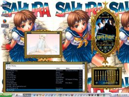 desktop 1 with media player by carlusdarienus