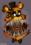 Twisted Bear (The Twisted Ones) by FireFoop