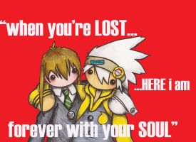 Maka and Soul by BeckyHolly