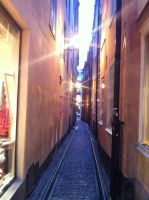 Stockholm Old town by Amizaras