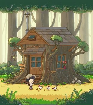 Stump House by mclelun