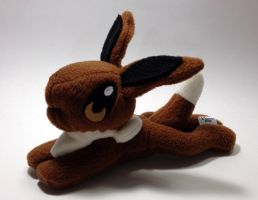 Pokemon - Eevee beanie custom plush by Kitamon