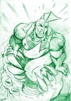 Savage Dragon by midknight23