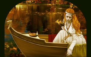 Lady of Shalott wallpaper by iizzard