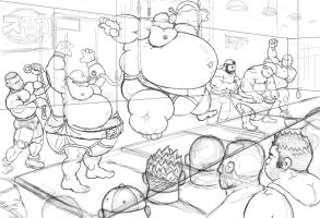 Sumo Factory WIP by antechamber85