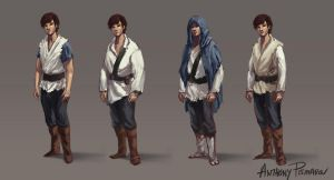 Character Design Concepts 001 by AnthonyPismarov