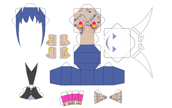 PaperCraft Tansui by TitanFishKiller