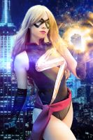 Ms.Marvel - Marvel Comics by FioreSofen
